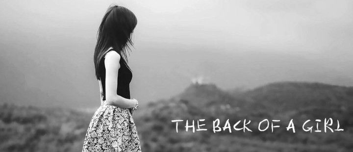The back of the girl