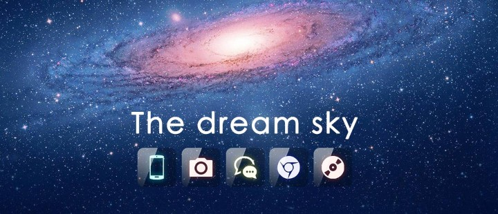 The dream sky