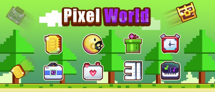 Pixel world.