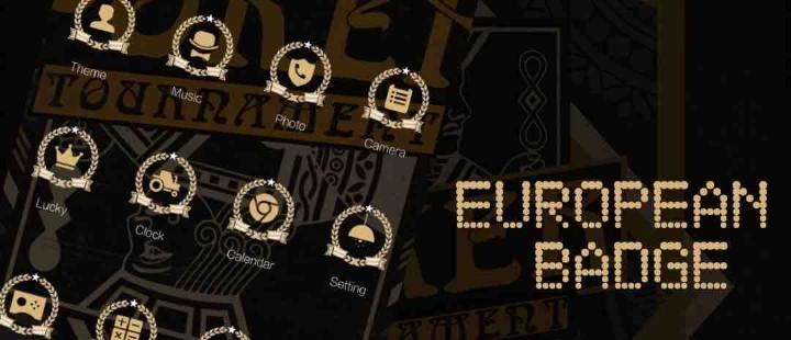 European Badge