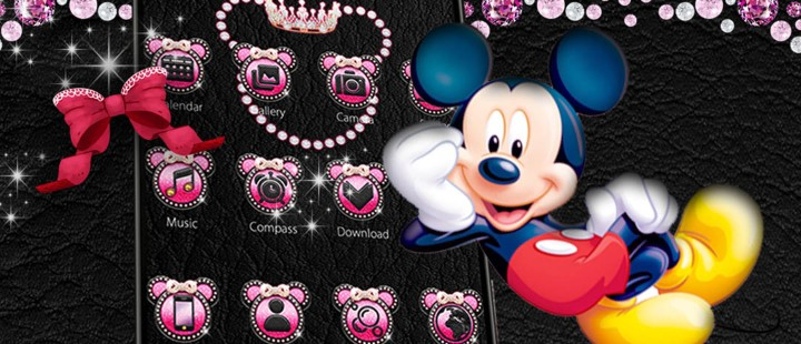 Pink Mickey Diamond